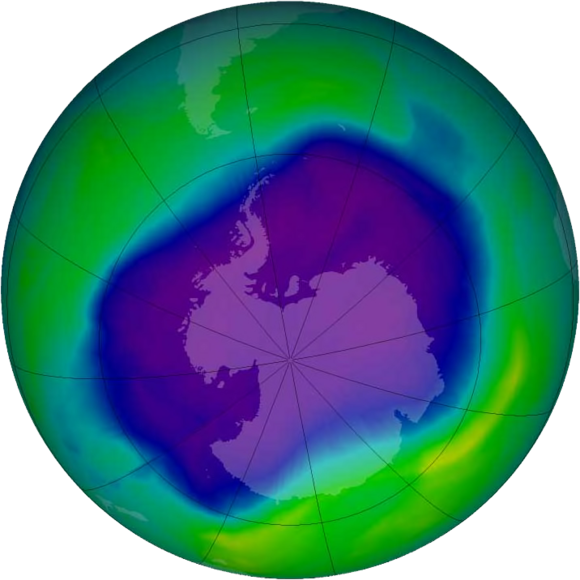Ozone Hole Discovered over Antarctica